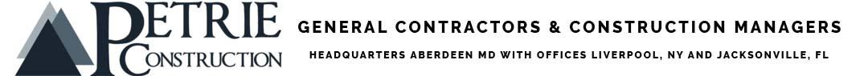 Petrie Construction Logo